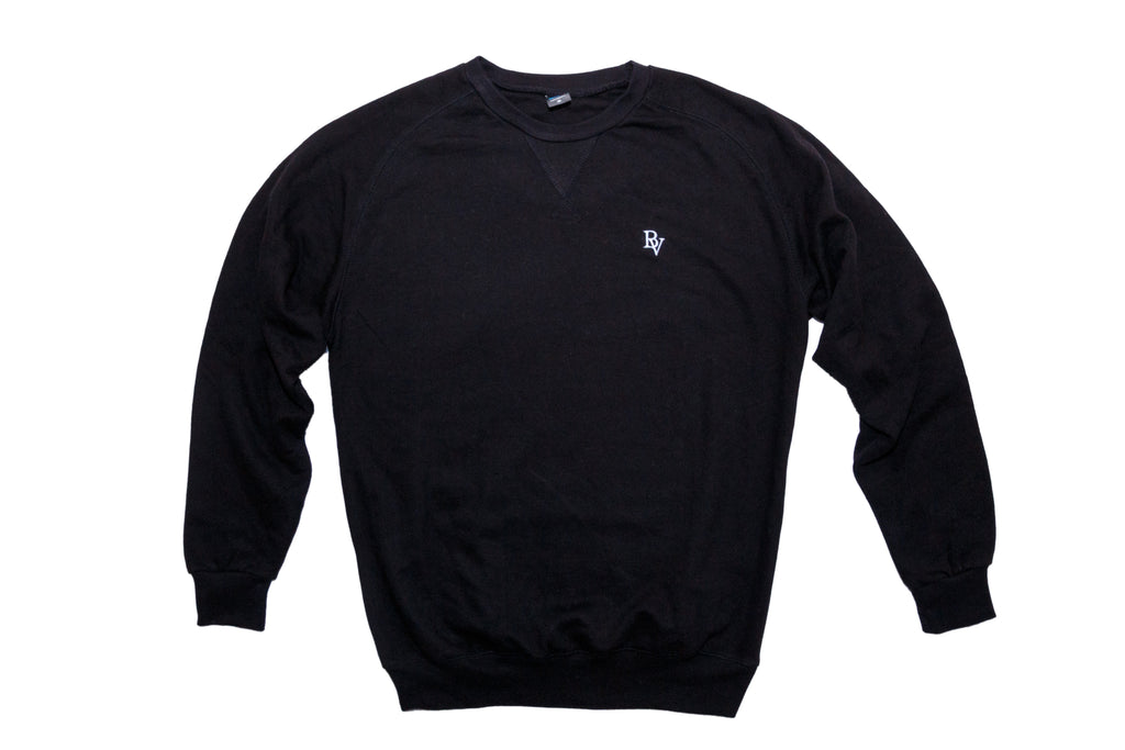 Bonvilain Essential Black Crewneck