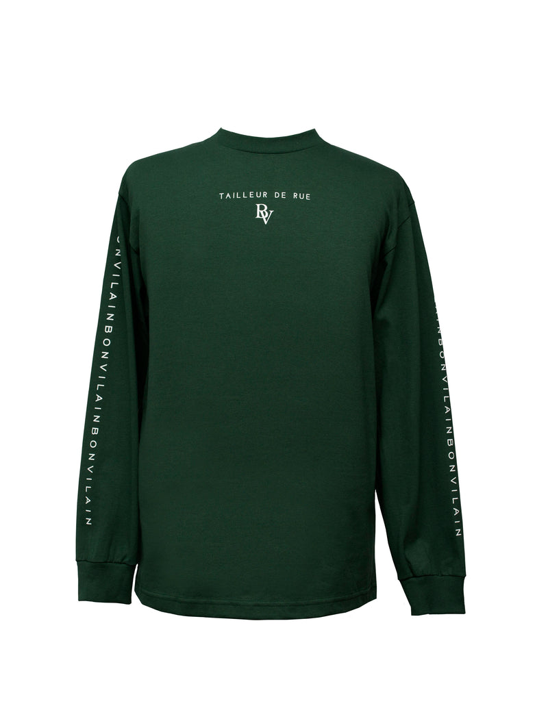 """TAILLEUR DE RUE"" Forest Green Long Sleeve"