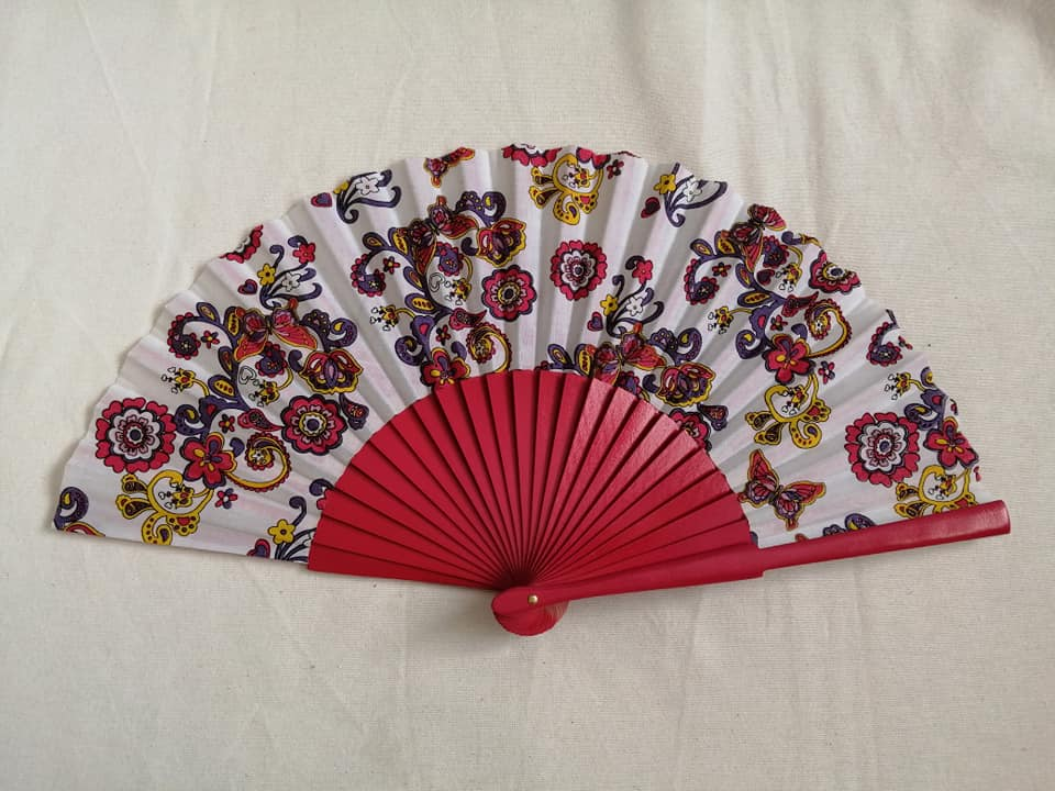 Hot Pink Paisley Standard Fan RTG