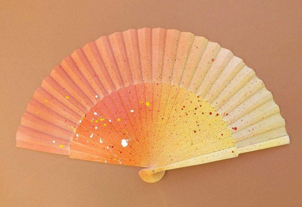 Orange Yellow Large Fan MTO