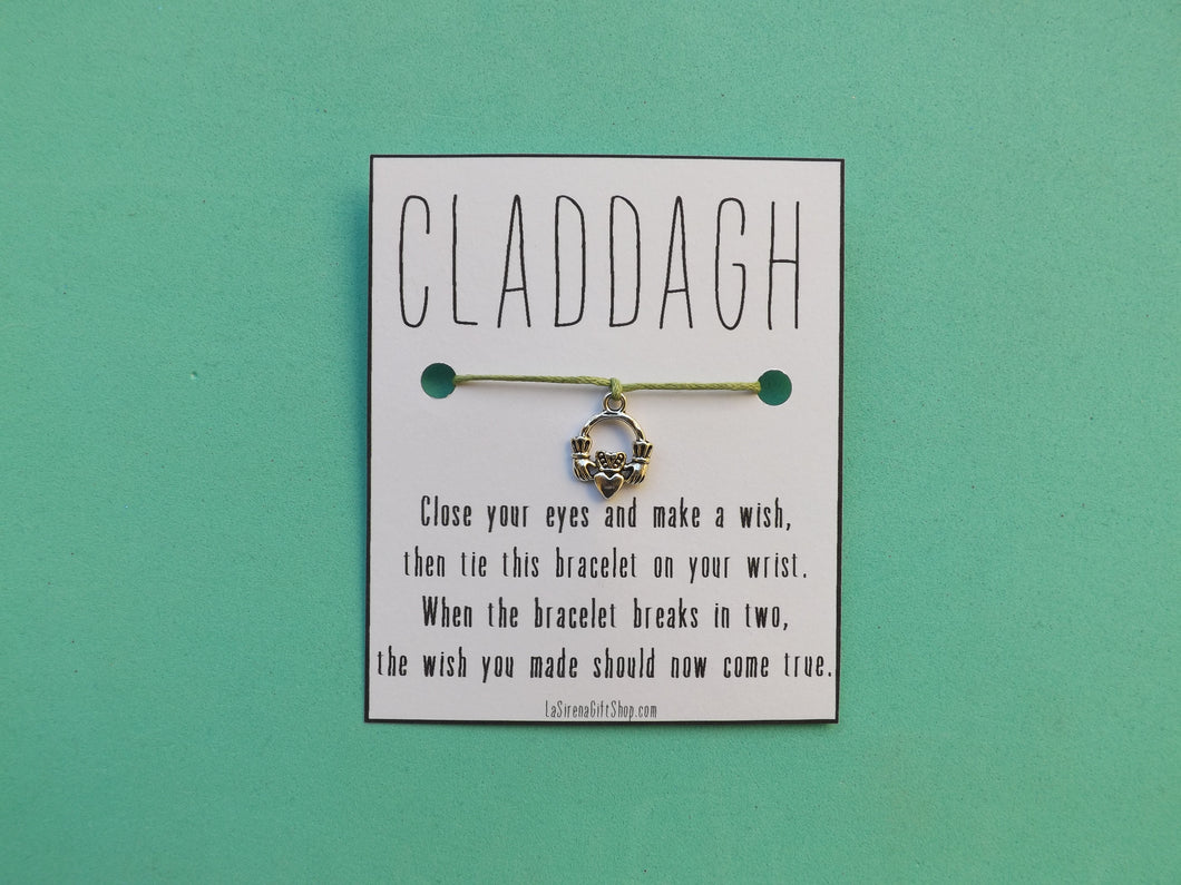 CLADDAGH Wish Bracelet MTO