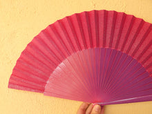 Load image into Gallery viewer, Pink Purple Sparkle Large Fan RTG