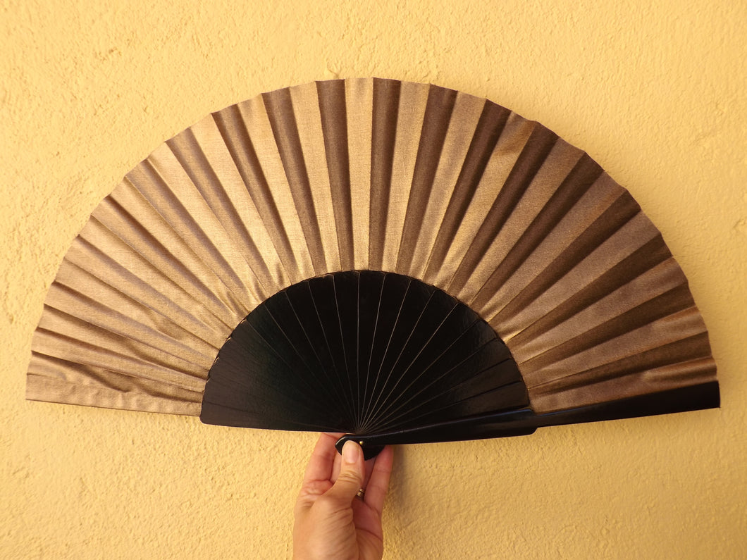 Black and Gold Supersize XL Fan MTO