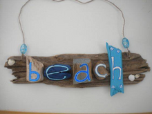 Load image into Gallery viewer, Driftwood Name Plaque