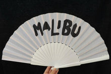 Load image into Gallery viewer, White Custom Painted Supersize XL Fan MTO