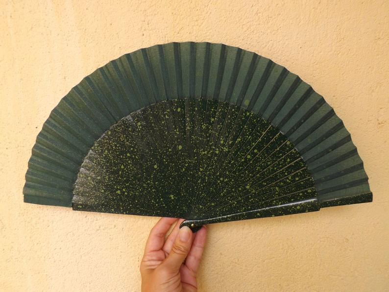 Olive Green Gold Standard Fan MTO