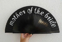 Load image into Gallery viewer, For The Bridal Party Wedding Standard Fan MTO