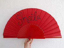 Load image into Gallery viewer, Red Custom Painted Supersize XL Fan MTO
