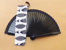Load image into Gallery viewer, Blue Fish Hand Fan Bag Small RTG