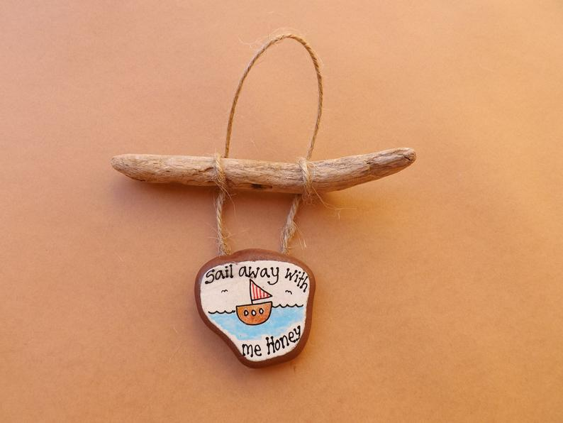 Sail Away with Me Pottery Driftwood MTO
