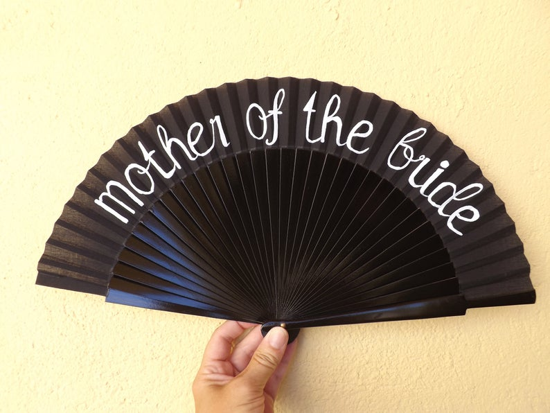 For The Bridal Party Wedding Standard Fan MTO