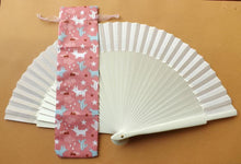 Load image into Gallery viewer, Pink Fox Hand Fan Bag Standard RTG