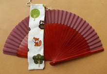 Load image into Gallery viewer, Woodland Animals Hand Fan Bag Standard RTG