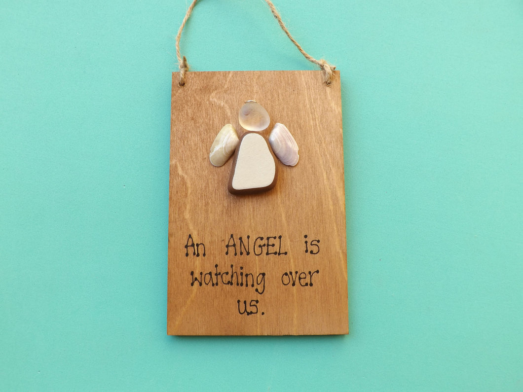 Angel Wooden Plaque MTO