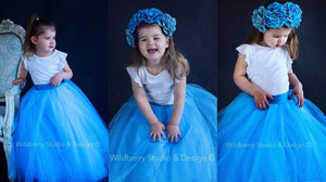 Baby/Kids 2-12 Tulle Skirts