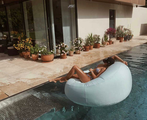 inflatable easy chair