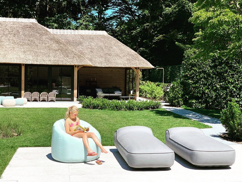 sun loungers inflatable outdoor furniture