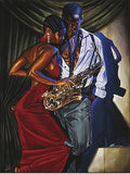 African American music related art