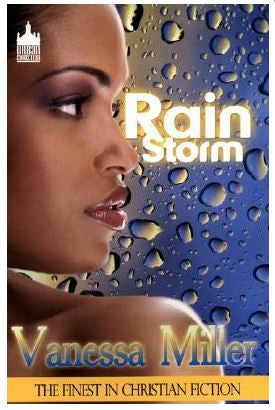Books -  Rain Storm by Vanessa Miller - trade paperback urban christian