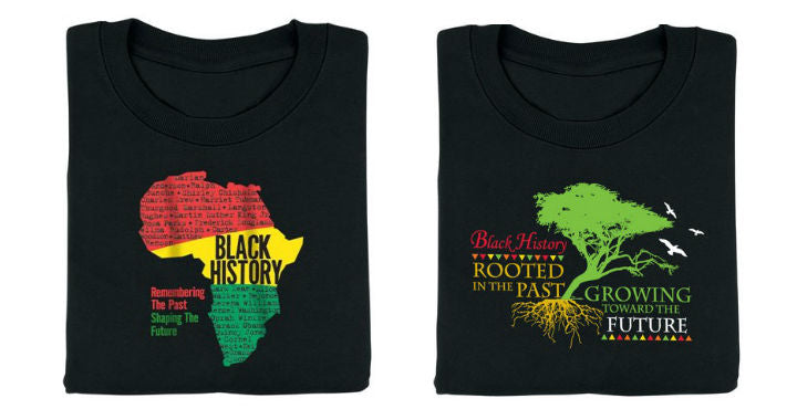 Black History t-shirt youth small - 2-FOR-20-TEE-04