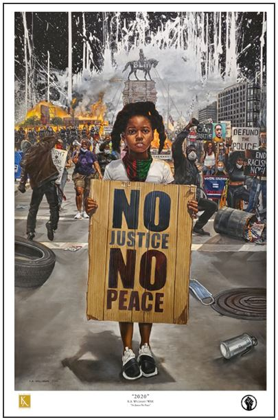 2020 Civil Unrest - 36x24 print - WAK