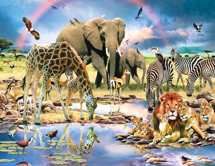Cradle of Life 1000 piece - jigsaw puzzle