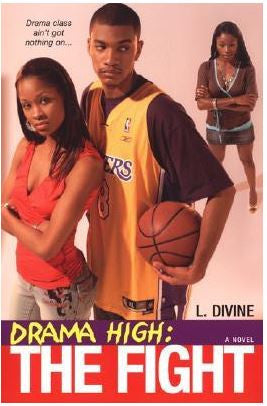 Books - Drama High: The Fight by L. Divine - trade paperback
