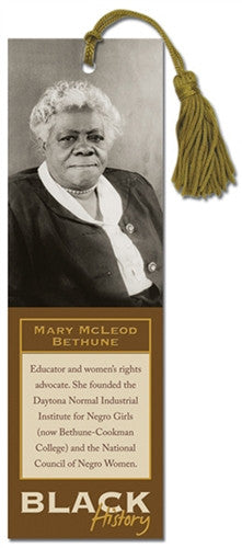 Black History Bookmark - Mary McLeod Bethune