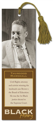 Black History bookmark - Thurgood Marshall