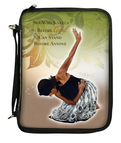 She Who Kneels - bible cover