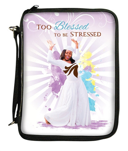 Too Blessed - bible cover