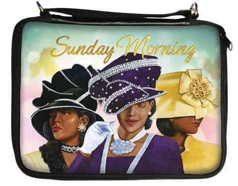 Sunday Morning - black pearls - bible cover