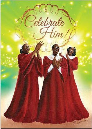African American Christmas Cards - AAE-C924 – It's A Black Thang.com