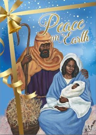 African American Christmas Cards - AAE-C936 – It's A Black ...