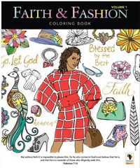 Coloring Book - Faith and Fashion Vol 1