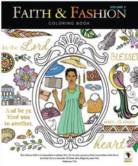 Coloring Book - Faith and Fashion Vol 2
