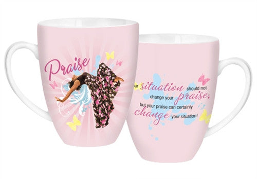 Total Praise - decorative mug - AAE-CHMUG-15