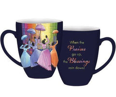 When The Praises Go Up - mug - AAE-CHMUG-33