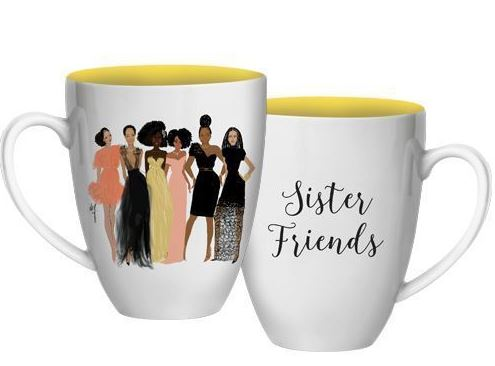 Sister Friends - decorative mug - AAE-CHMUG-35