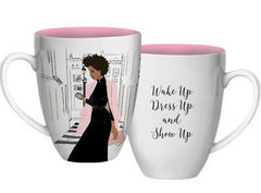 Wake Up Dress Up - decorative mug - AAE-CHMUG-37