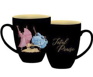 Total Praise - black decorative mug - AAE-CHMUG-43