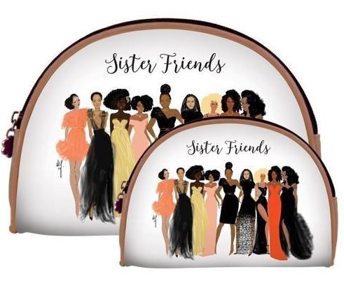 Sister Friends - cosmetic bags