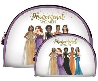Phenomenal Women - cosmetic bags