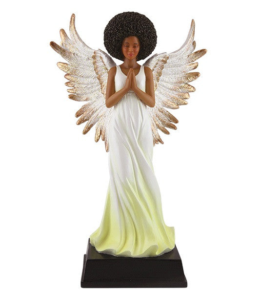 Afro Angel Figurine It S A Black Thang Com