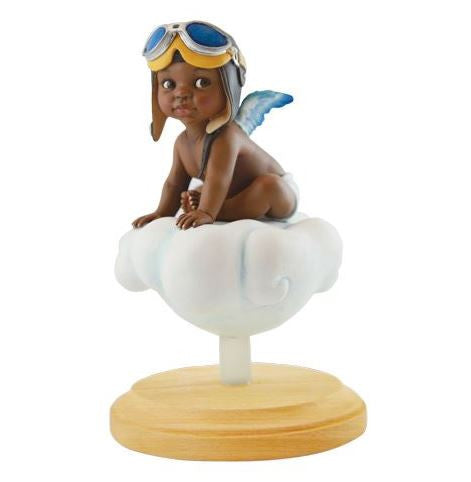 Adorable Little Pilot - boy - AAE Blackshear figurine