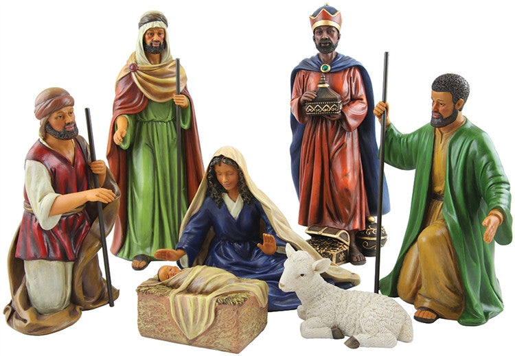 Nativity Scene figurines - 7-piece set