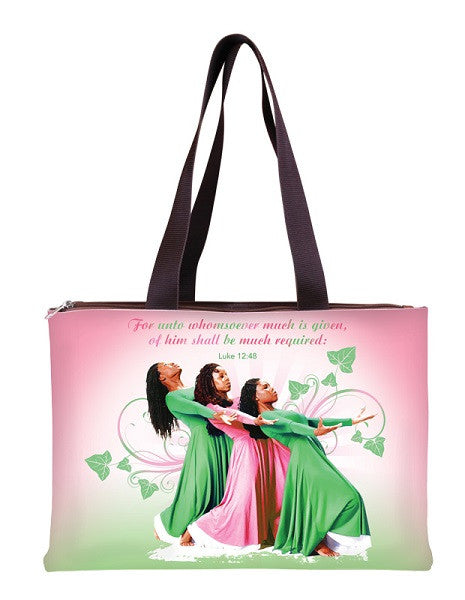 For Unto Whomsoever Much is Given - handbag - pink