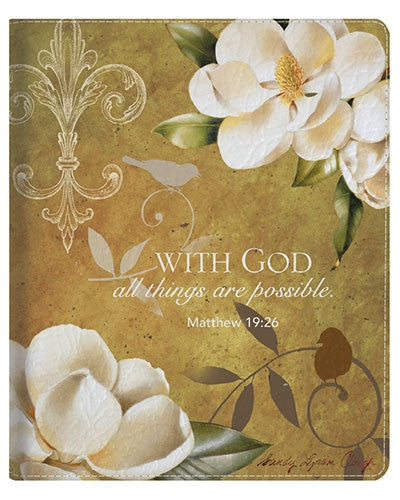 With God All Things Are Possible - iPad case
