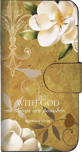 With God All Things Are Possible - iPhone 4 case