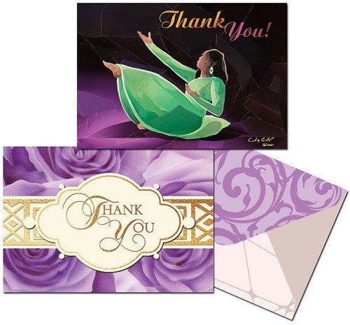 African American Thank You Cards - IT-12